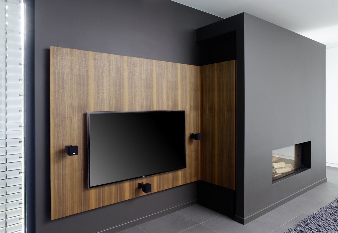 fernsehwand holz. Black Bedroom Furniture Sets. Home Design Ideas
