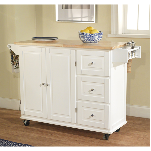 White Kitchen Island On Wheels Uk