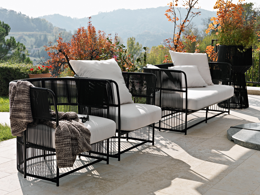 luxuri se outdoor m bel ideen top. Black Bedroom Furniture Sets. Home Design Ideas