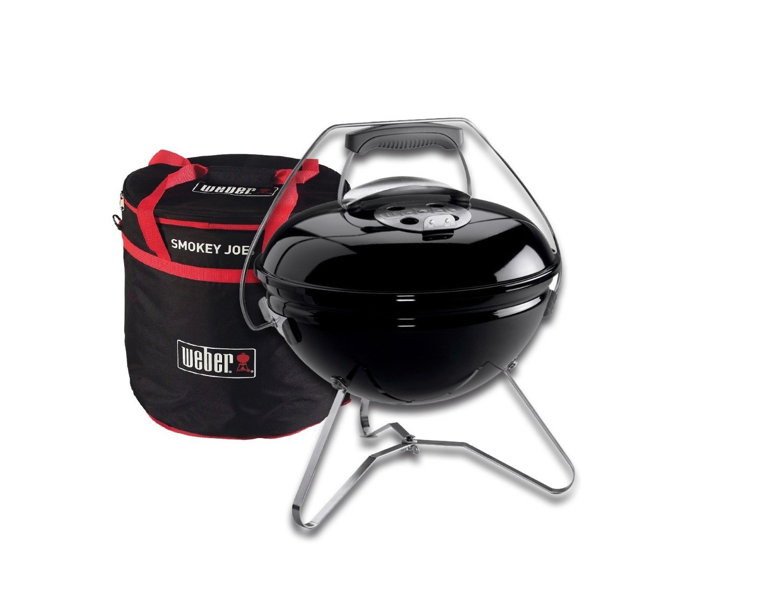 Premium Grill  Schwarz -Carry Bag-weber grill