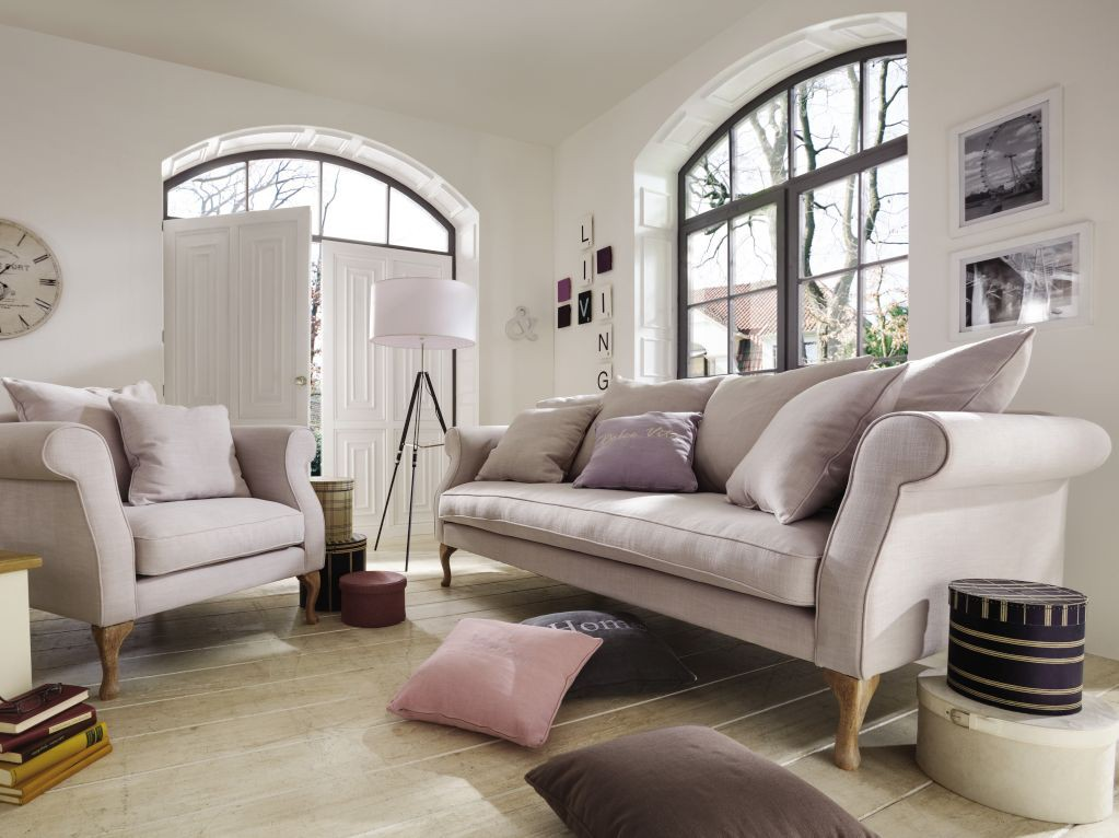 Sofas im landhausstil ideen top for Sofa landhaus