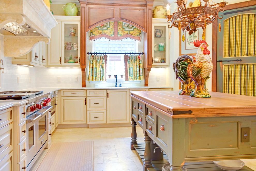 French Inspired Kitchen Decor