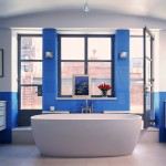 Moderner-elegant-Badewanne-Design-for-moderne Bad-Interieur