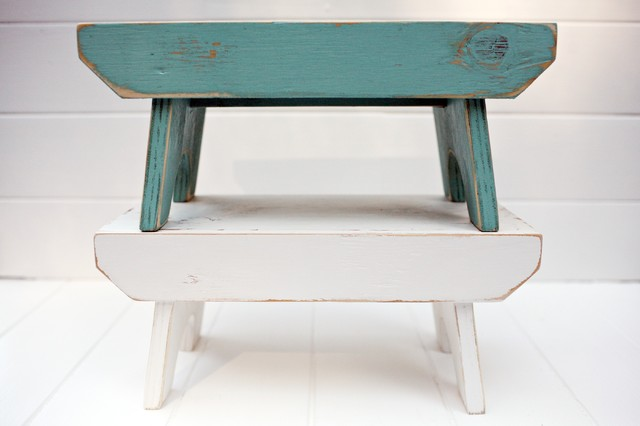 Rustikaler Hocker -hocker design