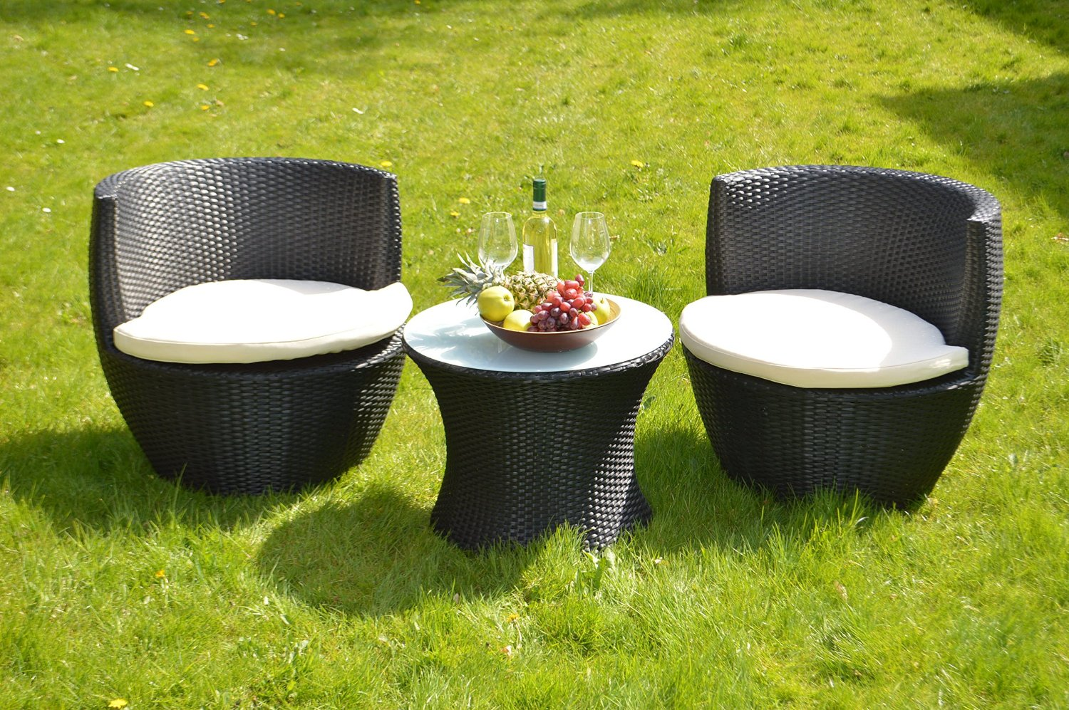 gartenm bel aus polyrattan outdoor m bel polyrattan ideen top. Black Bedroom Furniture Sets. Home Design Ideas