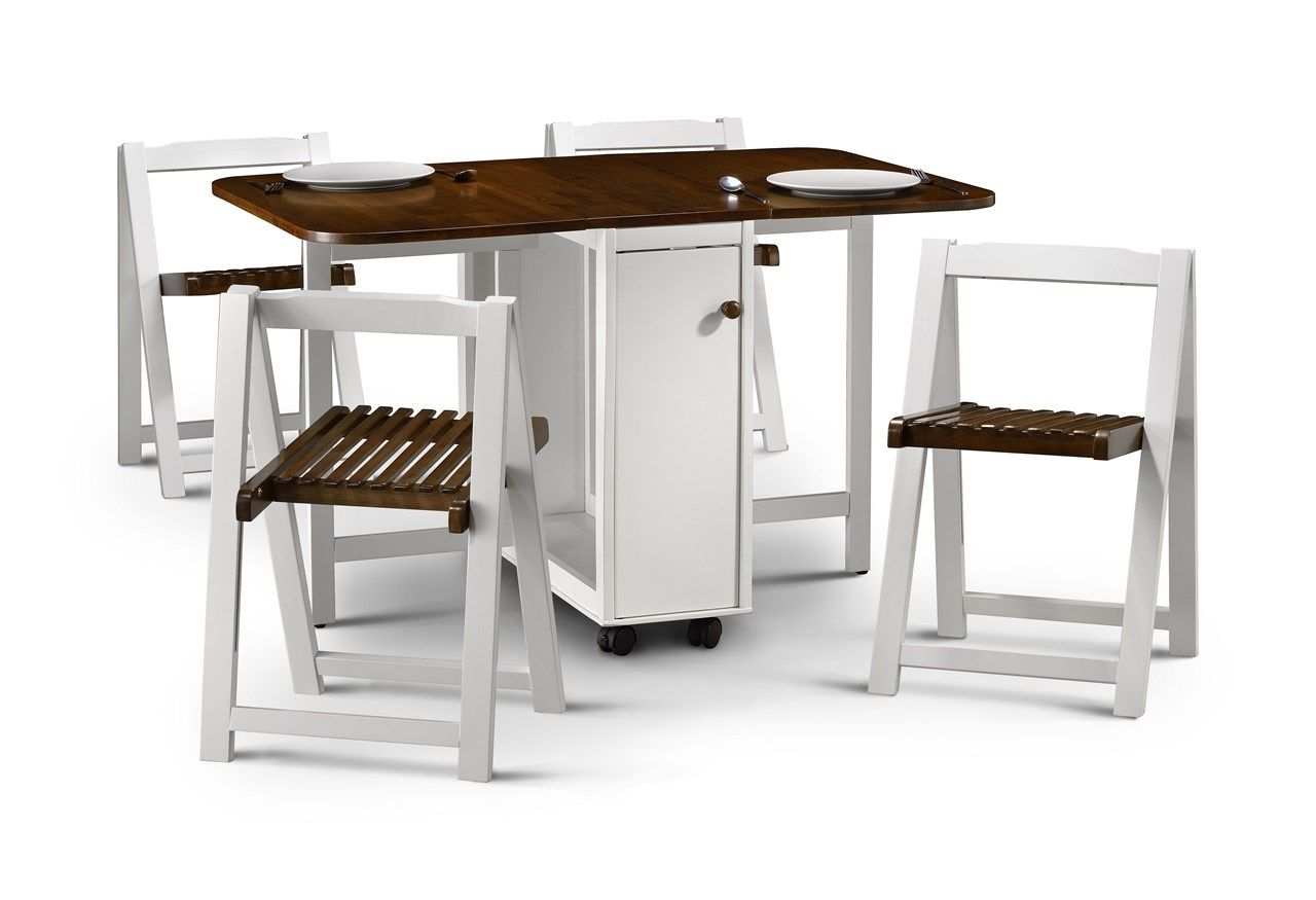 Stowaway Folding Kitchen Table And Chairs
