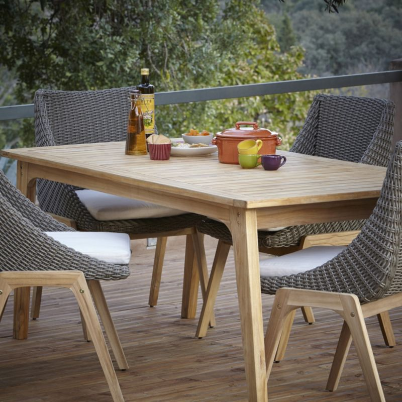 Outdoor design Rattanmöbel tisch-Rattanmöbel outdoor