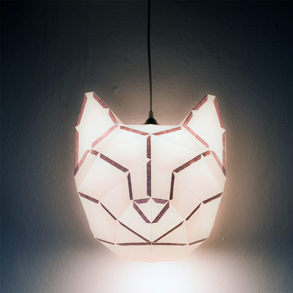 Lampshade Cat Ideen -design lampe
