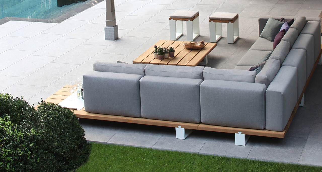 Outdoorsofa  Loungemöbel-Gartenmöbel