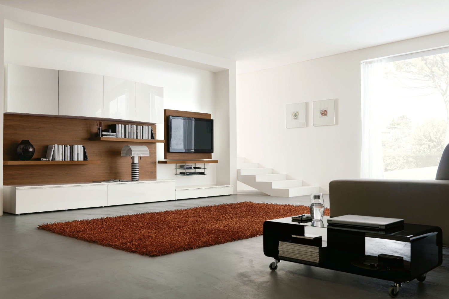 moderne tv m bel wohnzimmer design ideen ideen top. Black Bedroom Furniture Sets. Home Design Ideas