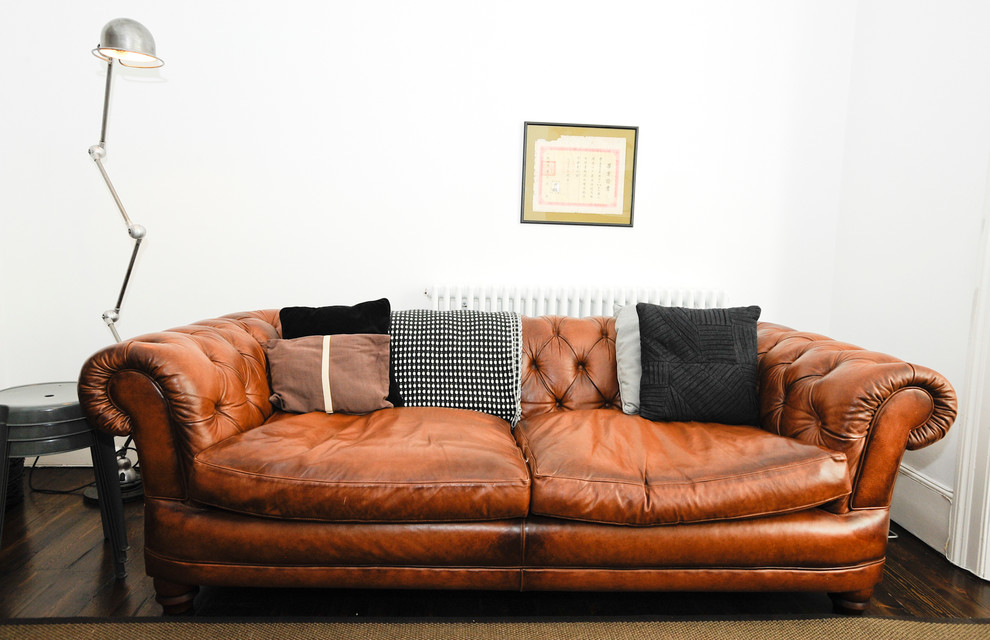 Sofa Modern Design with leder-Design möbel