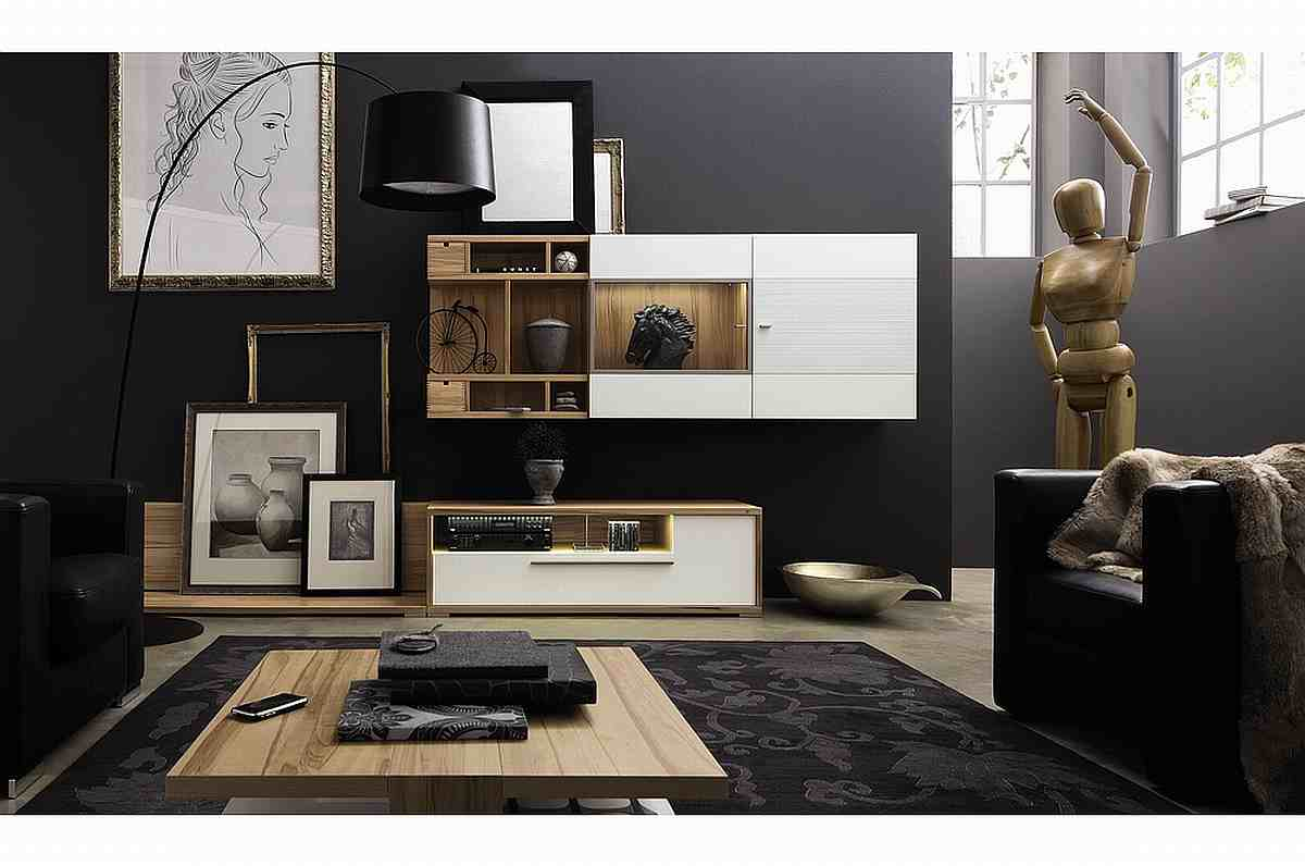 modernes wohnzimmer mit m beln ideen top. Black Bedroom Furniture Sets. Home Design Ideas