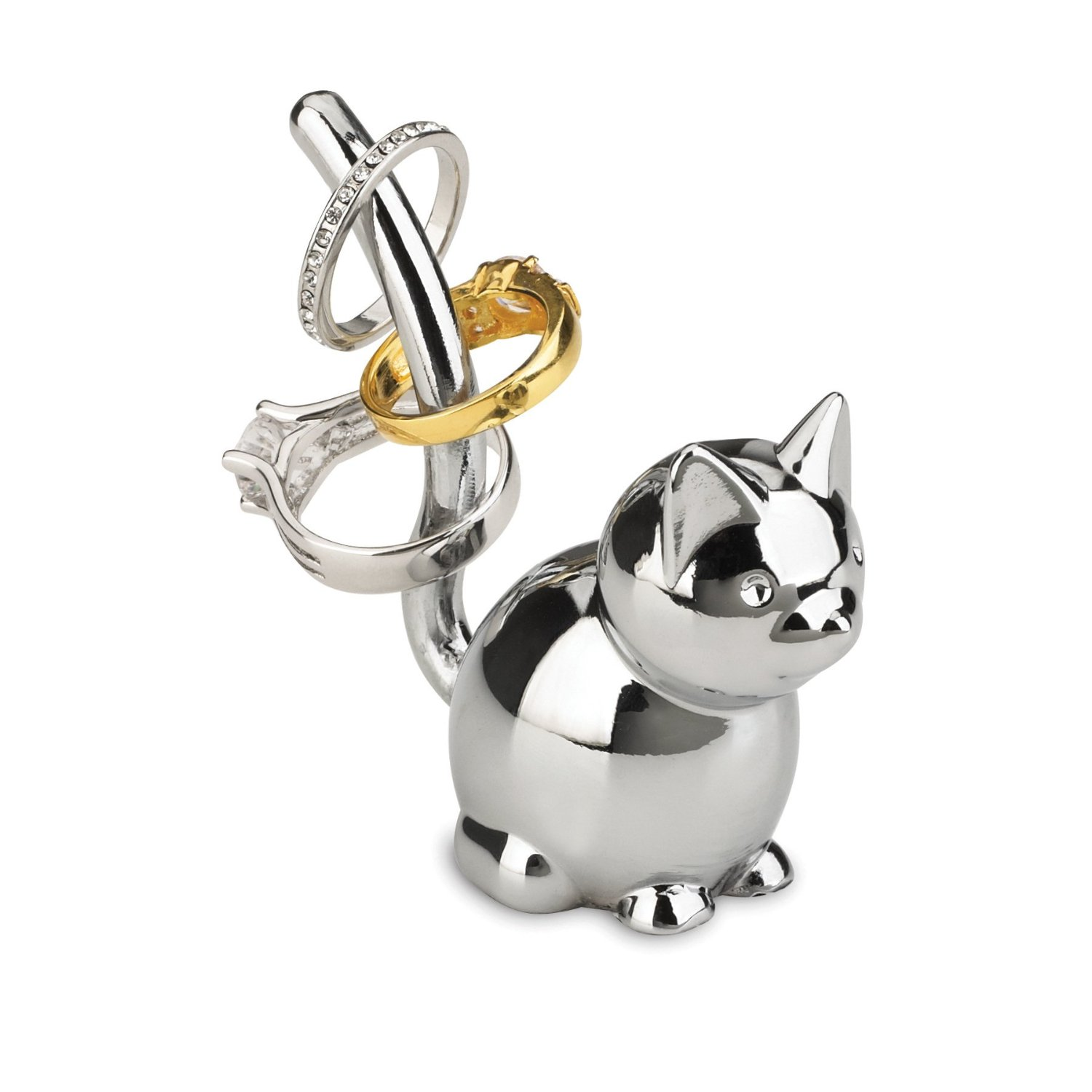 Design Ring Holder chrome-Wohnaccessoires