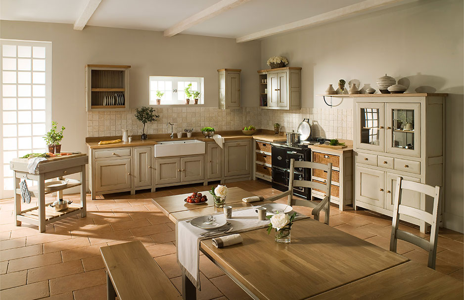 Shabby Chic Country Kitchen Decor