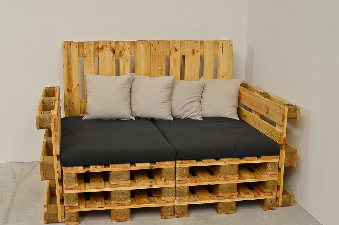 m bel und dekoideen aus holzpaletten ideen top. Black Bedroom Furniture Sets. Home Design Ideas