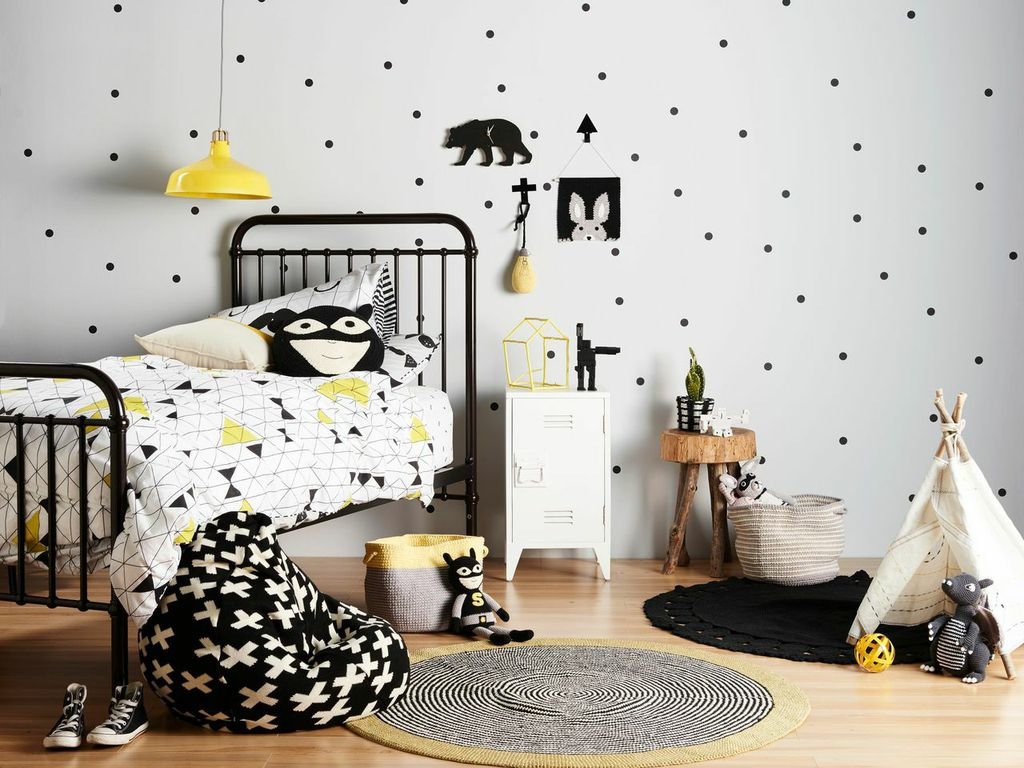 bezaubernde kinderzimmer in einem skandinavischen stil ideen top. Black Bedroom Furniture Sets. Home Design Ideas